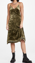 Thumbnail for your product : R 13 Back Tie Slip Dress with Hem Detail