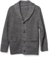 Gap Ribbed shawl cardigan