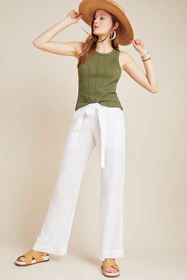 Cloth & Stone Lydia Wide-Leg Pants By in White Size XS