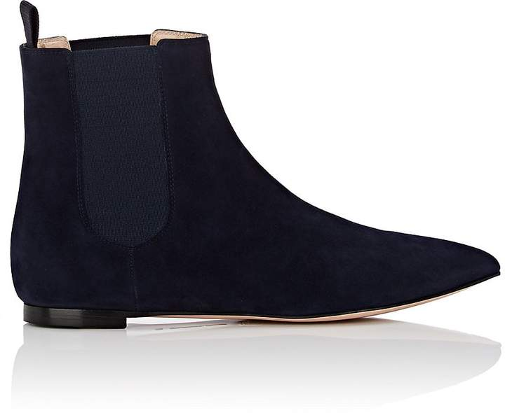 Gianvito Rossi Women's Suede Chelsea Boots