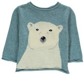 Nice Things Baby Cashmere and Wool Polar Bear Jumper