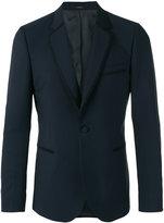 Paul Smith trim detail blazer - men - Viscose/Mohair/Wool - 36