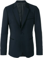Paul Smith trim detail blazer - men - Viscose/Mohair/Wool - 38