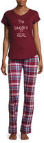 Asstd National Brand Wallflower Pant Pajama Set-Juniors