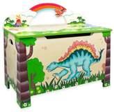Teamson Fantasy Fields Dinosaur Kingdom Toy Storage Box
