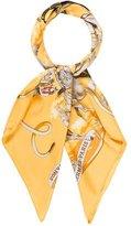 Hermes Les Mustangs Silk Scarf