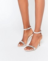 Carvela Giselle Nude Embellished Heeled Sandals