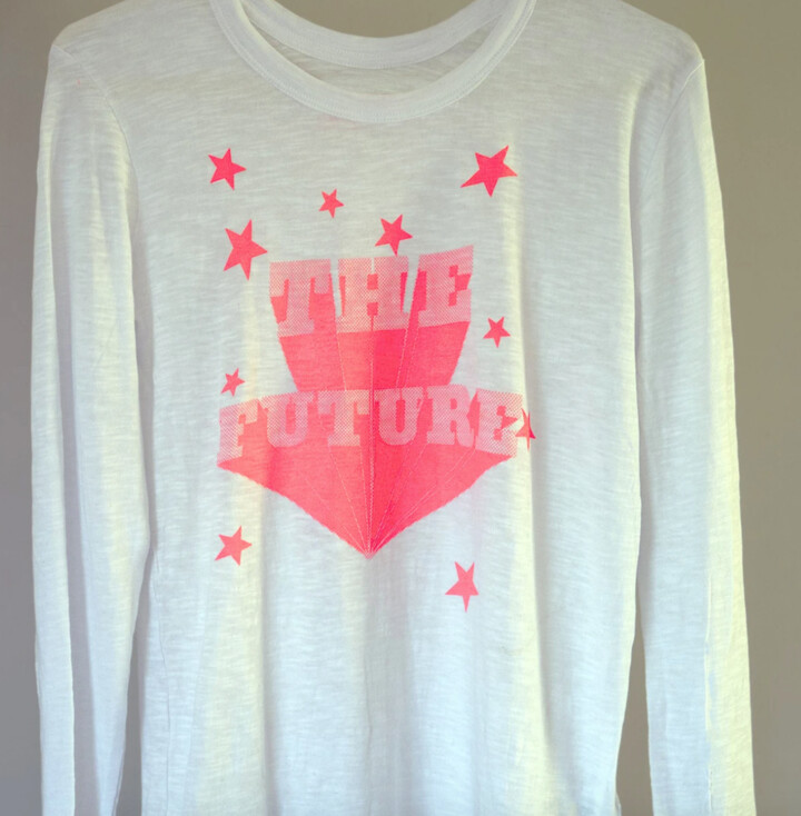 Thumbnail for your product : Margaux The Future Long Sleeve T Shirt - M