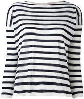 Giada Benincasa - striped jumper - women - Silk/Polyester/Viscose/Cashmere - S