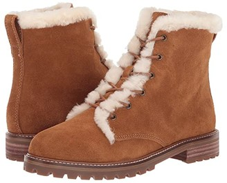 Madewell Levi Lace-Up Boot (Equestrian Brown Suede) Women's Boots