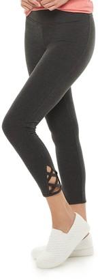 Sonoma Goods For Life Women's Lattice-Hem Leggings