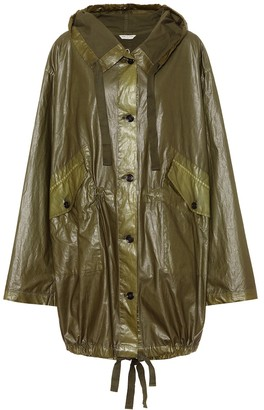 Dries Van Noten Laminated jacket