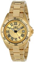 Invicta Women's 15094 Pro Diver Analog Display Japanese Quartz Gold Watch