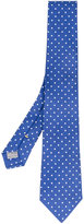 Canali polka dot embroidered tie - men - Silk - One Size