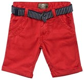 Timberland Red Chino Shorts with Belt
