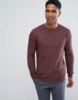 Reiss Textured Knit Crew Jumper
