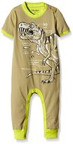 Hatley Baby Boys 0-24m Infant Boys Coverall Wild Dino Footies