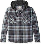 Quiksilver Men's Hooded Tang Flannel Shirt