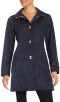 Jones New York Petite A-Line Turn-Lock Jacket