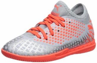 Puma Men's Future 4.3 Netfit IT Sneaker Black Black Aged Silver 9.5 M US
