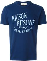 MAISON KITSUNÉ logo print T-shirt - men - Cotton - L