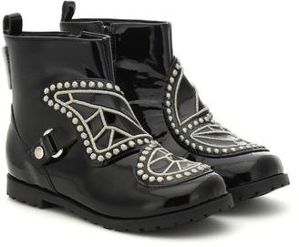 Sophia Webster Mini Karina leather ankle boots