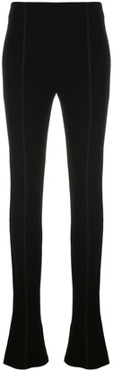 Thierry Mugler Extra-Long Flared Trousers