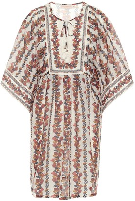 Tory Burch Floral cotton and silk dress
