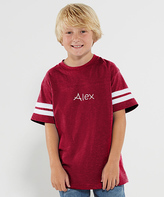 Princess Linens Red Personalized Football Tee - Toddler & Boys