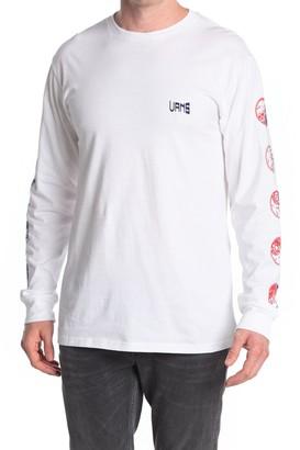 Vans Gradient Skull Long Sleeve T-Shirt