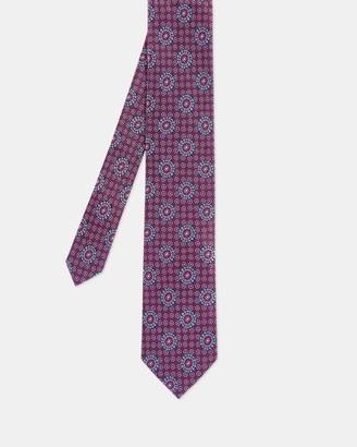 Ted Baker Tile Print Silk Tie