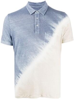 Altea Tie Dye Print Polo Shirt