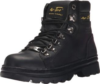 """AdTec Ad Tec Women's 6"""" Steel Toe Work Boot Black-W 6.5 M US"""