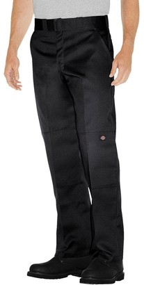 Dickies Men's Relaxed Straight Fit Twill Double Knee Work Pants -