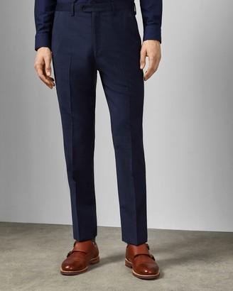 Ted Baker WASDEBT Debonair check wool suit trousers