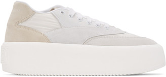 MM6 MAISON MARGIELA White Platform Sneakers