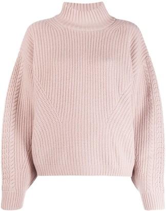 Le Kasha Rennes chunky knit jumper