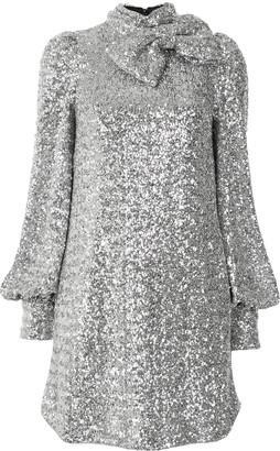 Rebecca Vallance Sequinned Mini Dress