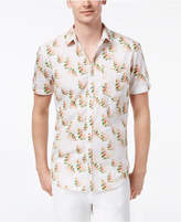 INC International Concepts I.N.C. Men's Snap-Front Floral Shirt, Only at Macy's