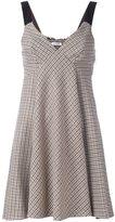 P.A.R.O.S.H. V-neck flared dress