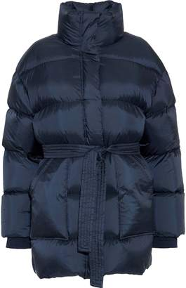 GOEN.J Belted Quilted Shell Down Jacket