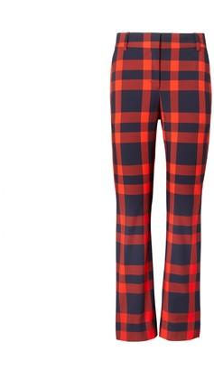 Tory Burch Yarn-Dyed Tech Twill Golf Pants