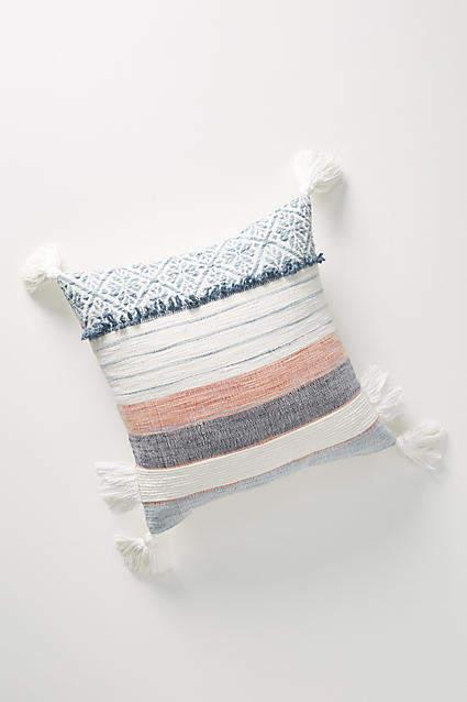 Anthropologie Rosewood Pillow