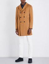 Armani Collezioni Classic-fit wool and cashmere-blend coat