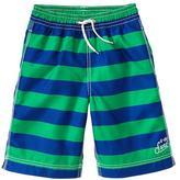 Gap Rugby stripe swim trunks