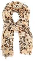 MANGO TOUCH - Animal print foulard