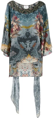Camilla Embellished Printed Tunic