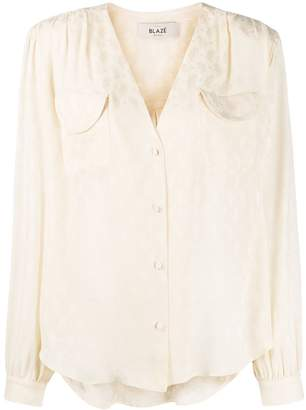 BLAZÉ MILANO paisley blouse