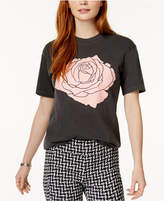 Kid Dangerous Rose Graphic-Print T-Shirt