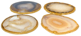 Mapleton Drive Gold-Plated Coasters (Set of 4)